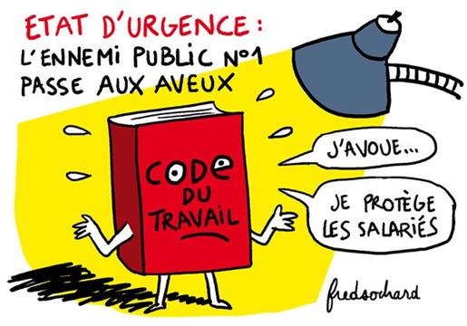 code du travail et fonction publique